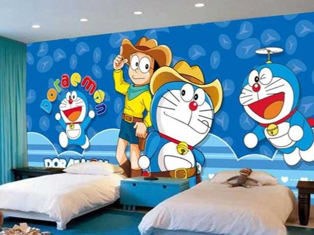 kamar doraemon simple
